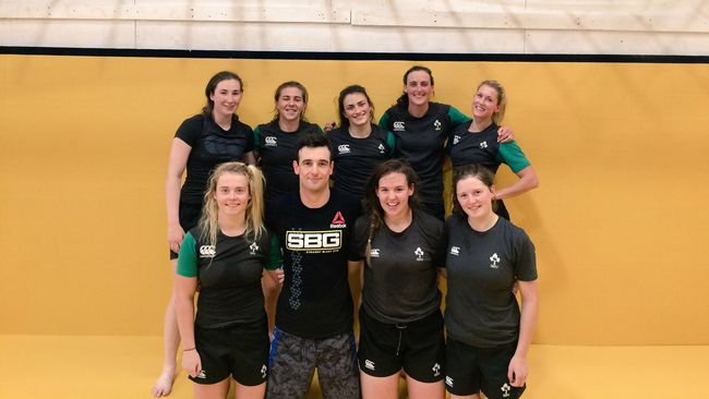 Ireland Women's Sevens Squad Have A Pre-Season With A Difference