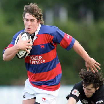 Clontarf out-half Ian Keatley in action against Ballymena