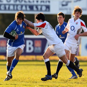 Italy lost their opening game of the U-18 Six Nations Festival to England