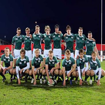 The Ireland Under-18 Schools team that played Wales on Wednesday night