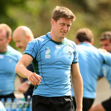 Ronan O'Gara training in Bordeaux