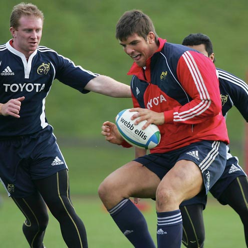 Munster Squad Training At The UL Bowl, Tuesday, November 6, 2007