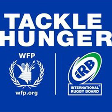 The IRB are tackling hunger in unison with the UN's World Food Programme