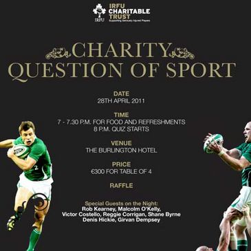 The Charitable Trust's 'Question of Sport'