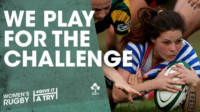 #GiveItATry Launched For Women's And Girls Rugby