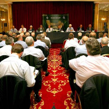 A general view of the IRFU's annual Council Meeting