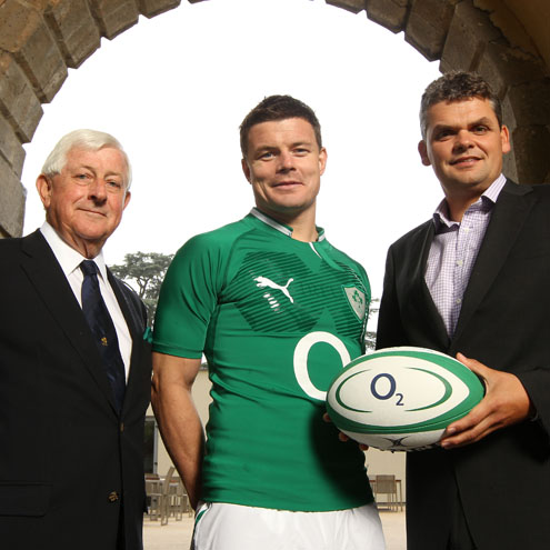 Photos from the IRFU/O2 Partnership Announcement at Carton House