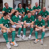 The players were in high spirits as they took time out from their training camp in Dublin this week