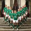 Ireland Women's international Grace Davitt joined Brian O'Driscoll and his fellow Grand Slam winners in modelling the new kit