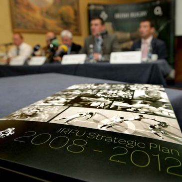 The IRFU has launched its new Strategic Plan