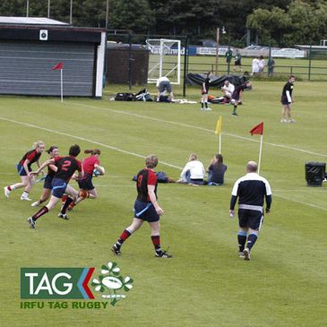 The IRFU Tag Finals Day at Newforge Country Club