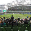 Patrice Nugent and Aideen Flynn who play IRFU Volkswagen Tag at Waterpark RFC enjoyed a great day out at Ireland v New Zealand at the Aviva Stadium