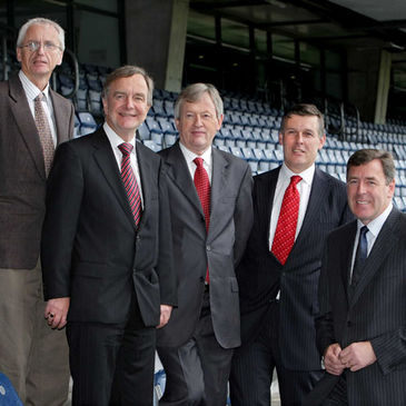 IRFU Chief Executive Philip Browne was amongst those in attendance at Croke Park