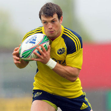 Munster winger Ian Dowling