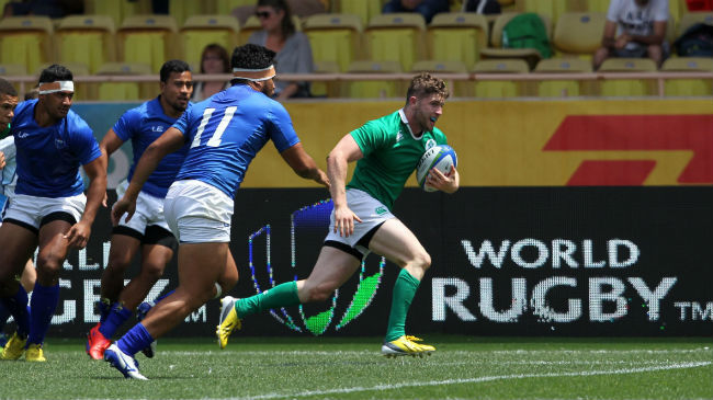 Ireland Men's Sevens Squad Named For Prague Tournament