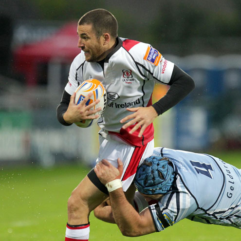 Ian Humphreys in RaboDirect PRO12 action for Ulster