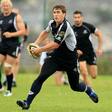 Ian Keatley training with his Connacht team-mates