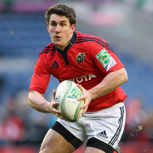 Munster out-half Ian Keatley