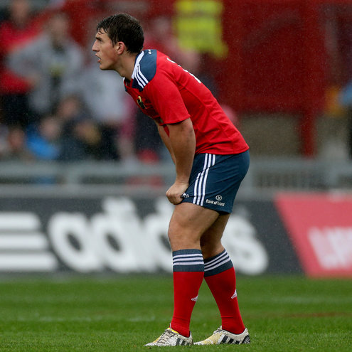 Ian Keatley will wear the number 10 jersey against Edinburgh