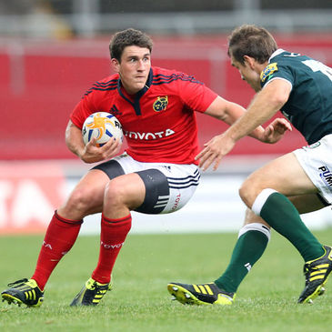 Ian Keatley in action against London Irish last Friday