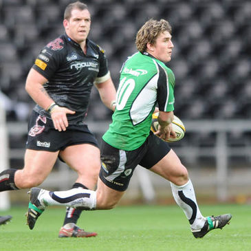 Connacht's Ian Keatley in action against the Ospreys