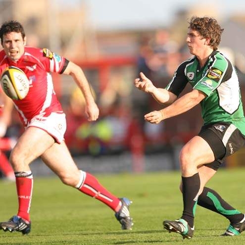 Scarlets 45 Connacht 3, Stradey Park, Saturday, September 13, 2008