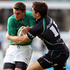 Ian Keatley was a lively presence in the Irish midfield, linking up with his former Ireland Under-20 team-mate Darren Cave