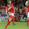 Munster out-half Ian Keatley had a solid night with the boot, kicking four penalties and a conversion for a 14-point haul