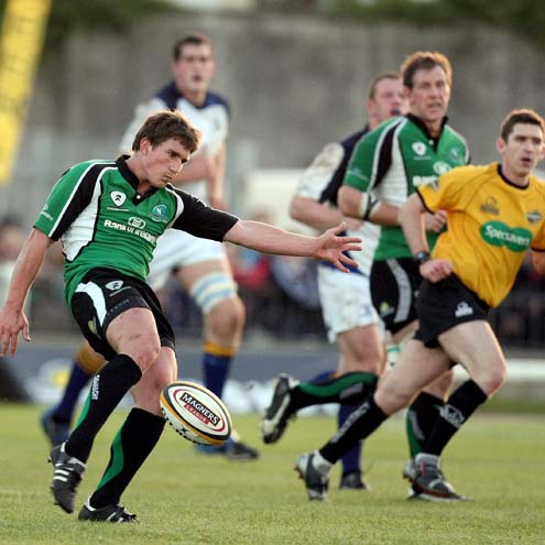 Connacht's Ian Keatley in action against Leinster