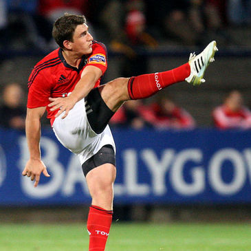 Ian Keatley in action for Munster