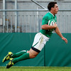 A brilliant counter attack out of the Irish 22 led to centre Ian Keatley scoring a superb fifth try in the left corner