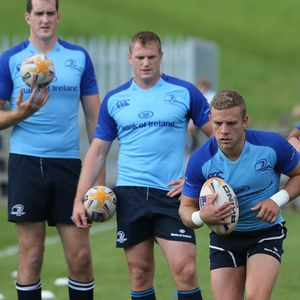 Leinster Open Training Session At Dundalk RFC, County Louth, Thursday, August 22, 2013