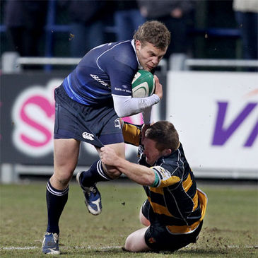 Leinster's Ian Madigan in action against Newport