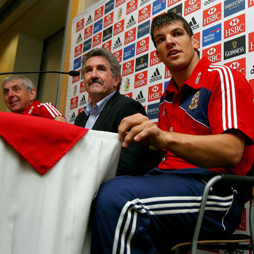 Ian McGeechan, Gerald Davies and Donncha O'Callaghan