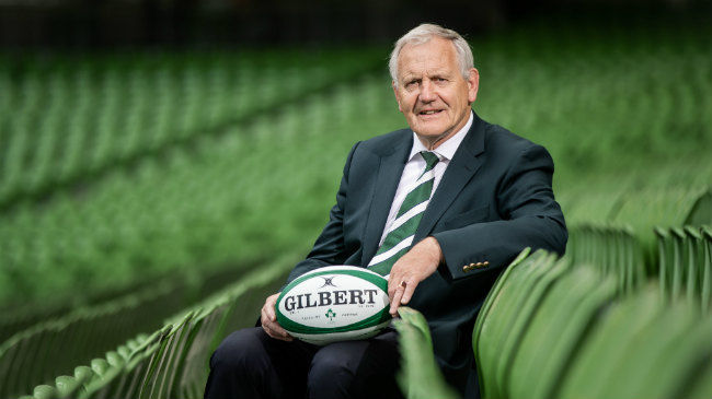 Ian McIlrath Elected President Of The IRFU