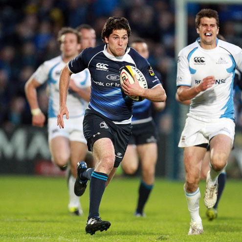 Ian McKinley in action for Leinster last season