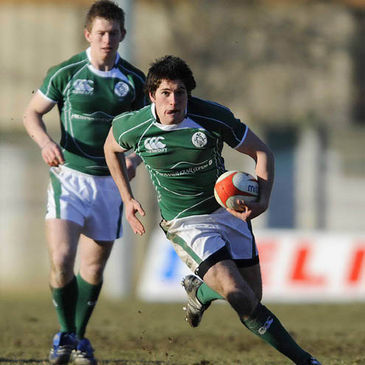 Ian McKinley will captain the Ireland Under-20s against Samoa