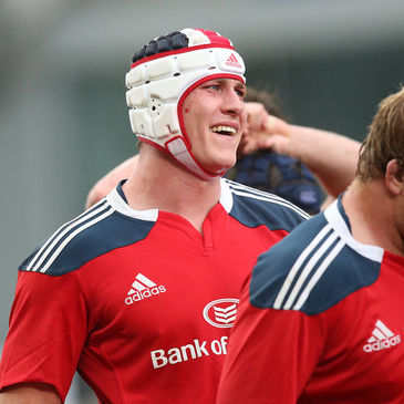 Munster second row Ian Nagle