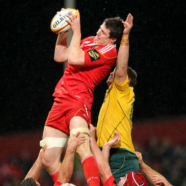Ian Nagle in action for Munster