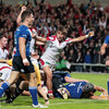 Two more Jimmy Gopperth penalties had Leinster leading 19-14, but Ian Porter wriggled over near the posts for a crucial third try for Ulster