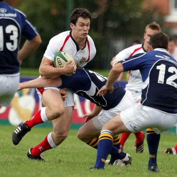 Ian Whitten in action for Ulster 'A'