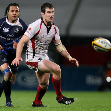 Ian Whitten in Magners League action against Leinster