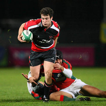Ian Whitten in action for Ulster against Portugal