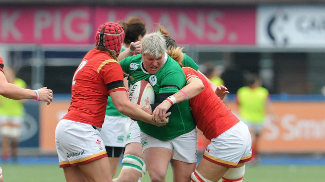 Ilse van Staden in action during this year's Six Nations