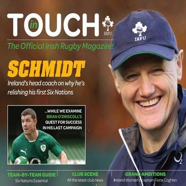 Joe Schmidt on the cover of 'In Touch'