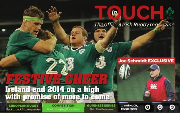 December Issue Of 'In Touch' Packed With News
