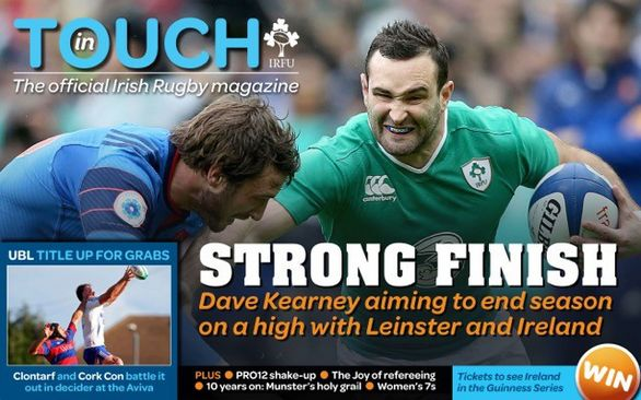 'In Touch' - May Issue Out Now