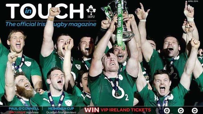 'In Touch' - the digital magazine of Irish rugby