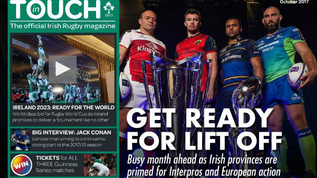 'In Touch' Magazine Packed With Rugby News