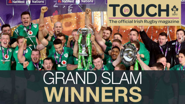 'In Touch' Magazine - The Grand Slam Special